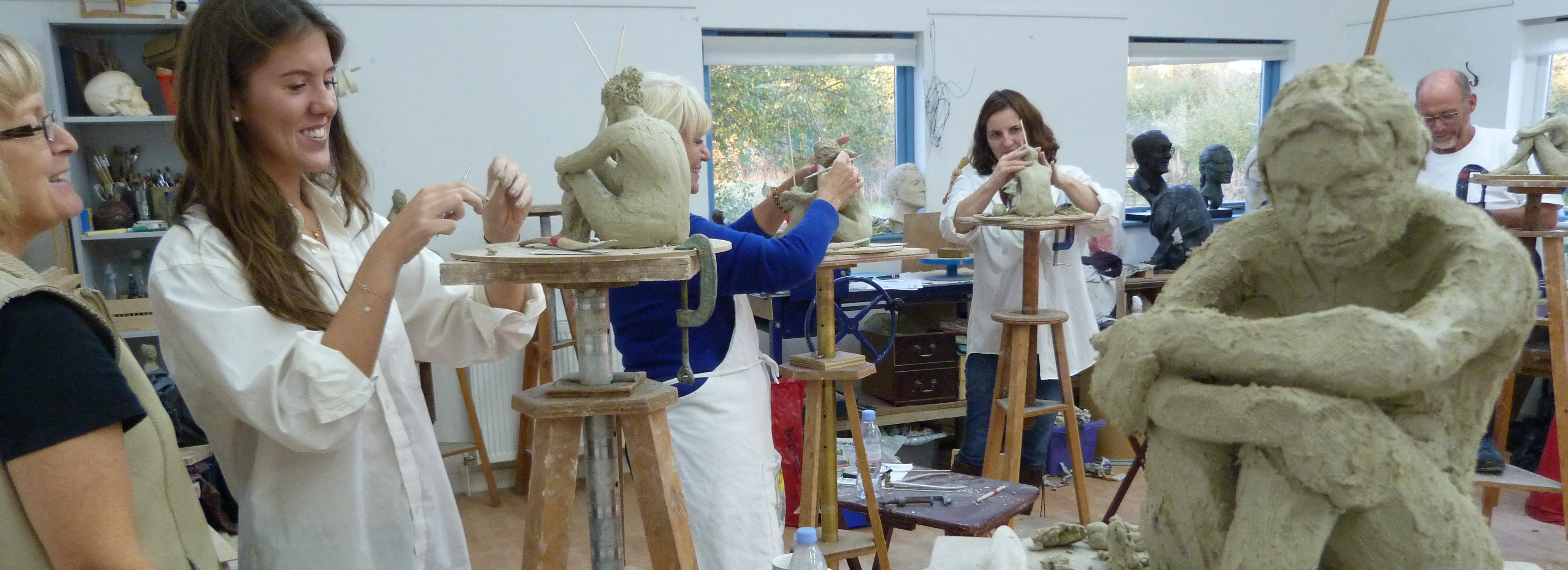 Clay Life Modelling Weekends with Karin Ort - 17/18 October 2015