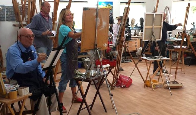 Mondays - Drawing & Oil Painting - Term dates
