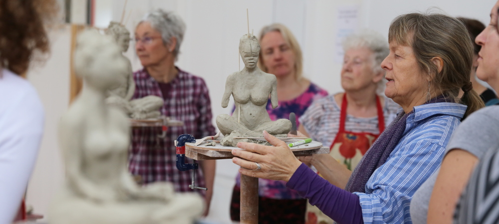 Clay Life Modelling Weekend with Karin Ort, 12/13 May 2018