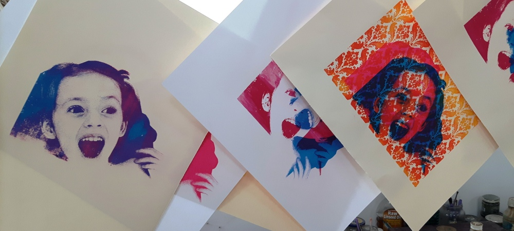Screen Printing with Liam Biswell - 3/4 February 2018