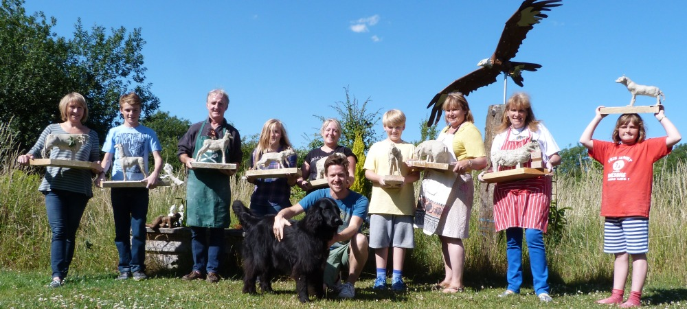 Family Clay Animal Weekend with James Ort, 14/15th July