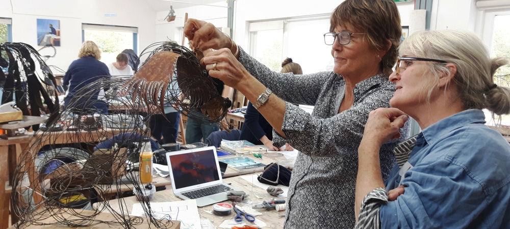 Wire & Mixed Media Summer Session with James Ort, 17/18/19 August