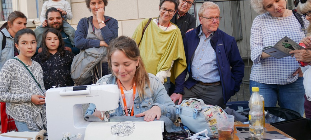 Freestyle Stitching with Harriet Riddell, 9/10th February