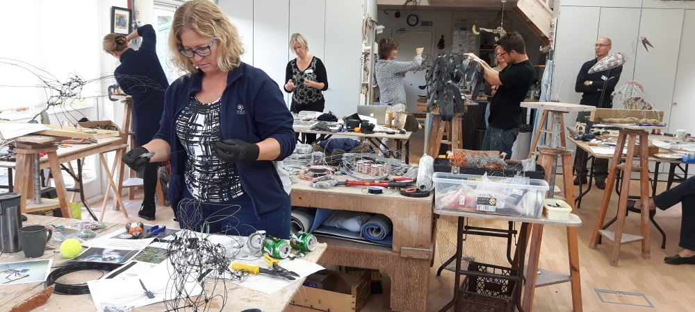 Wire & Mixed Media with James Ort, 24/25 November 2018