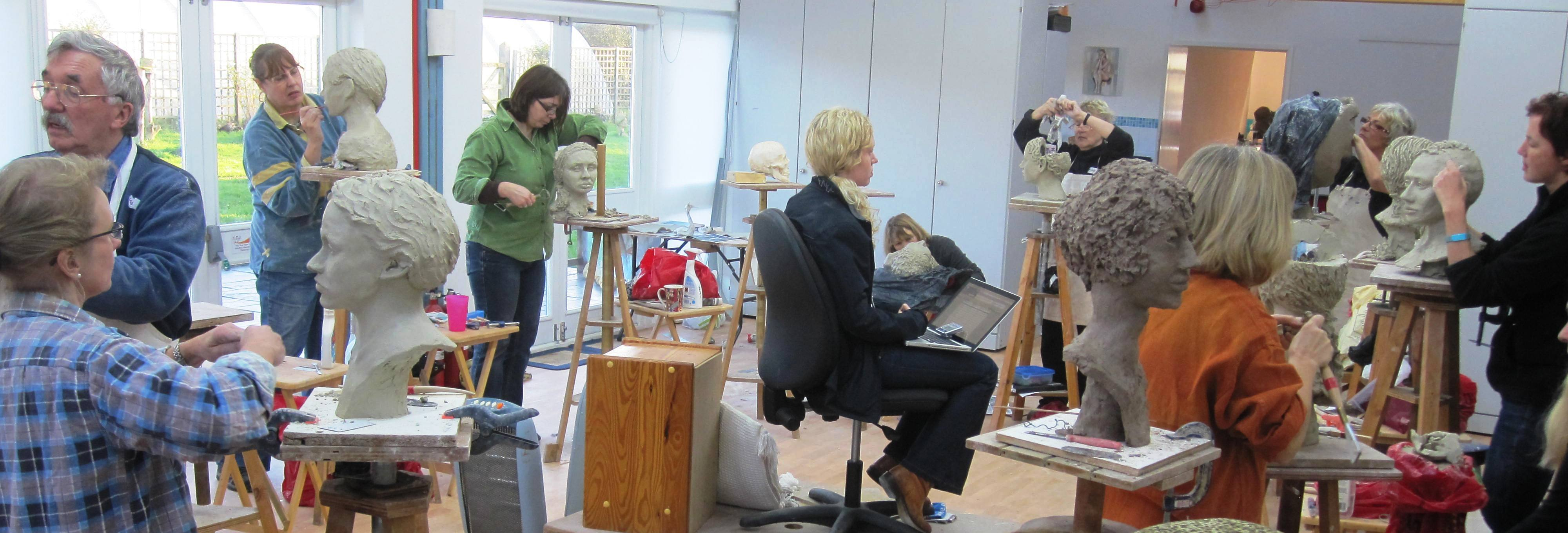 Clay Portrait Weekends with Karin Ort - 7/8 May 2016