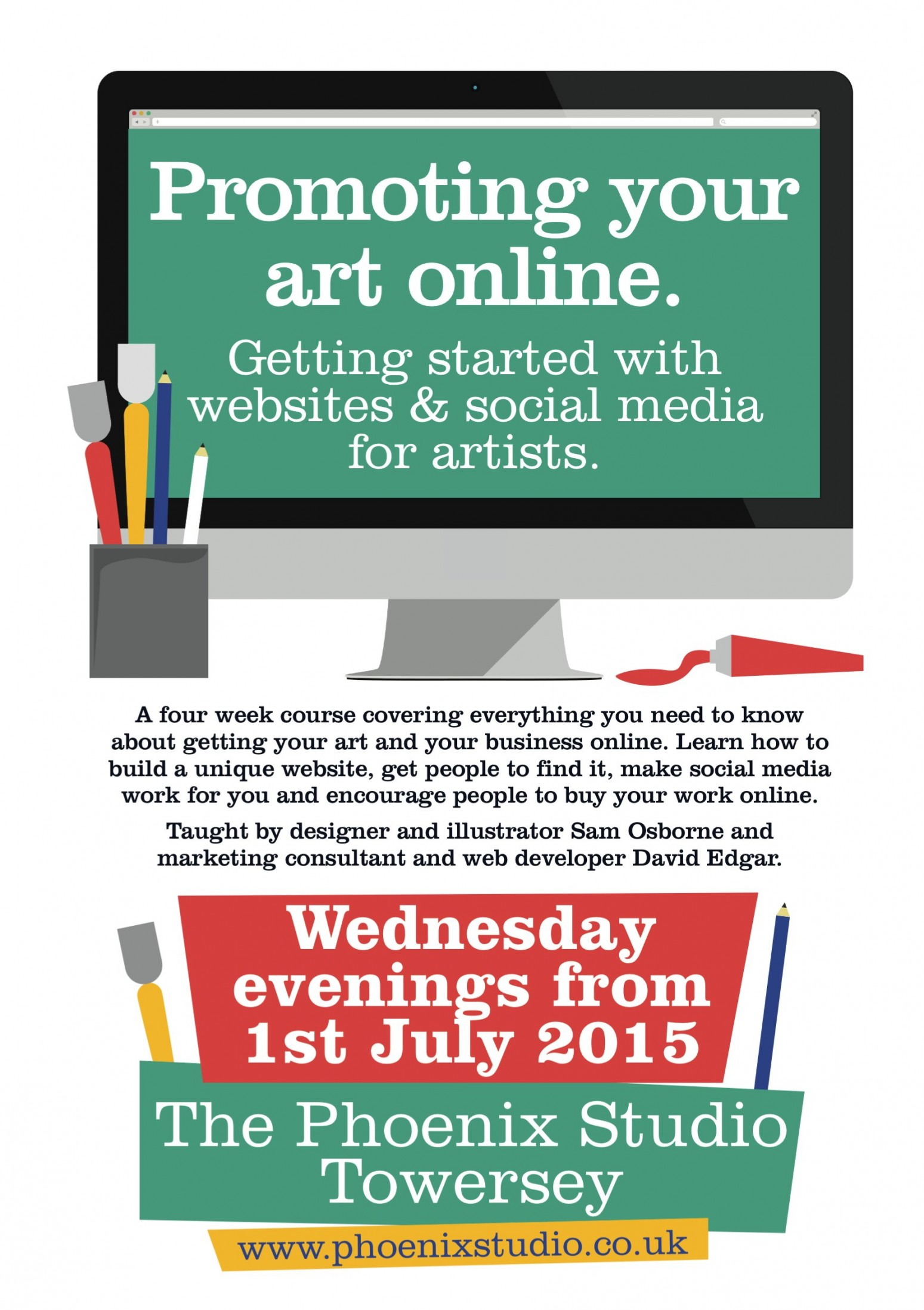 Promoting your art online
