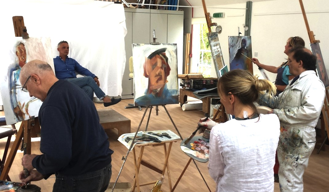 Fridays: Oil Painting Portraits 12noon – 3pm