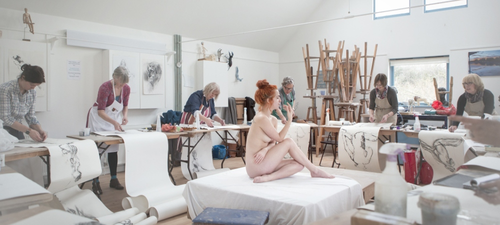 Life Drawing with Sally Fisher - Friday 28th February