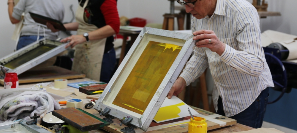 Screen Printing Evening with Liam Biswell - Monday 3rd Oct