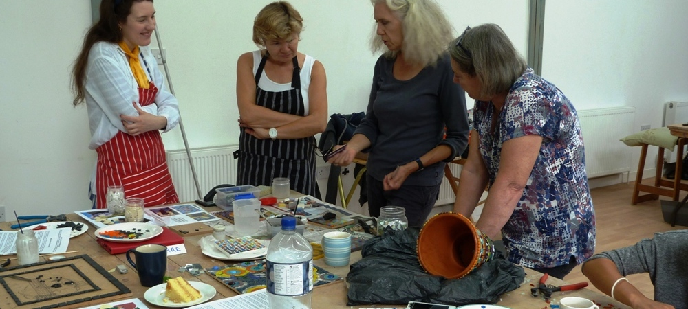 Mosaic Summer School with Rosalind Wates - 15th to the 19th August