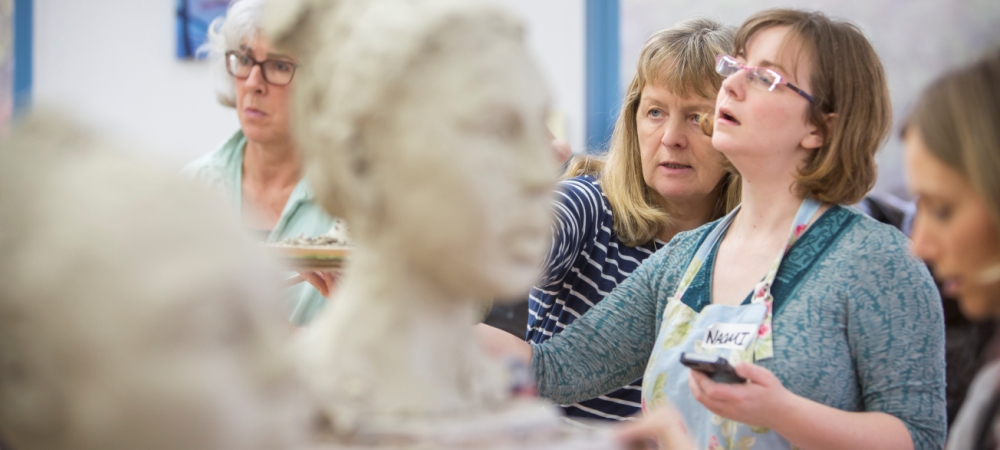 Clay Portrait Weekends with Karin Ort - 18/19 March 2017