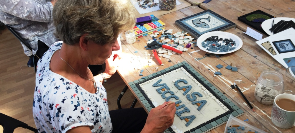 Mosaics Weekends with Rosalind Wates - 2nd & 3rd June 2018