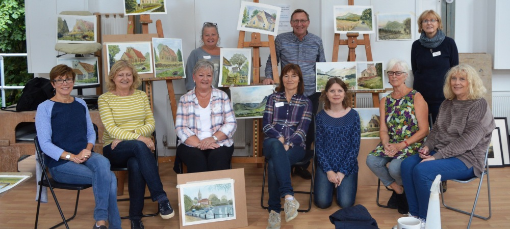 Watercolour Landscapes with George Boyter, 11/12 August