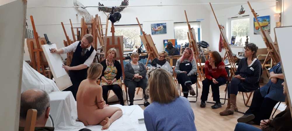 Life Drawing: Shape & Structure with Jake Spicer, 15th-16th February
