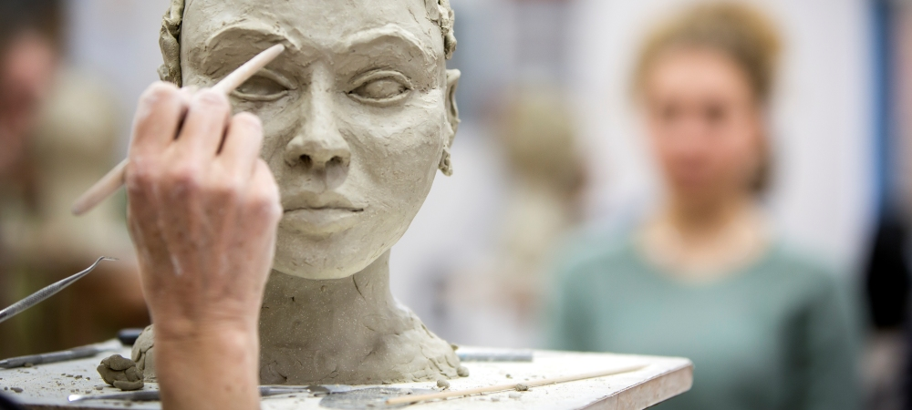 Clay Portrait Weekend with Karin Ort, 28/29 March
