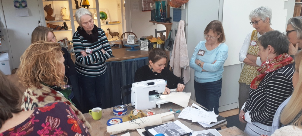 Freestyle Stitching with Harriet Riddell, 15/16th June