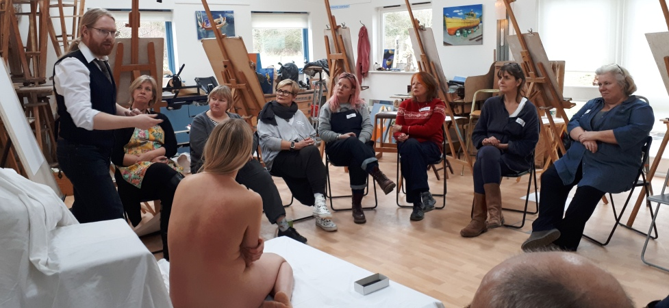 Life Drawing for the Sculptor with Jake Spicer, 13th September