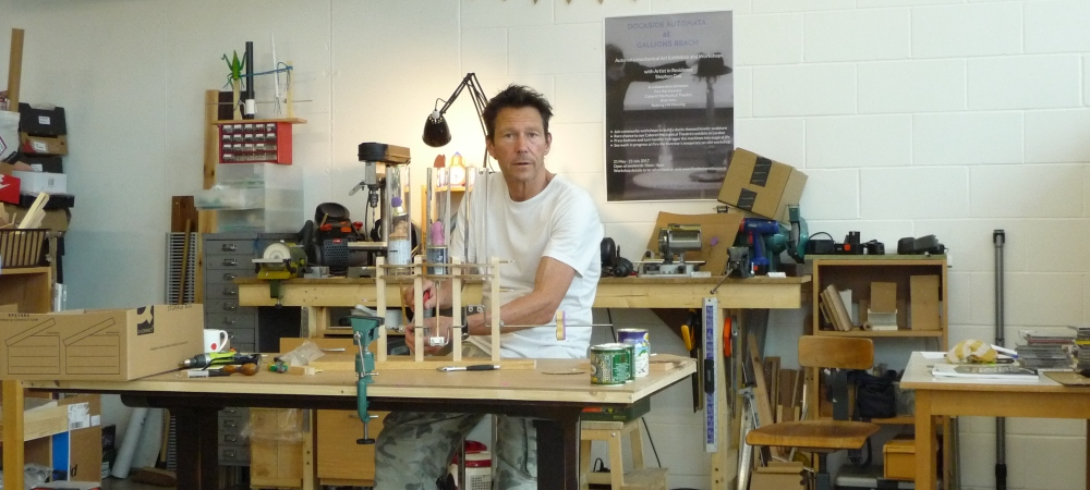 Automata - Mechanical Art Workshop with Stephen Guy 13/14 June
