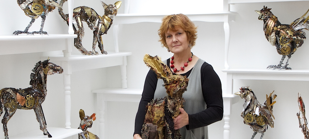 Textile Animal Sculpture with Barbara Franc, 21-24 July