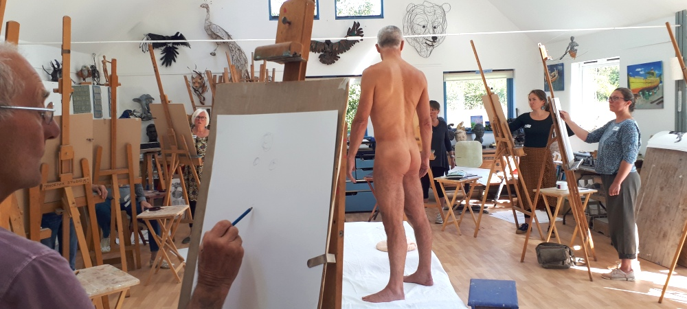 Jake Spicer's Life Drawing Clinic - Weight & Volume , 18th September