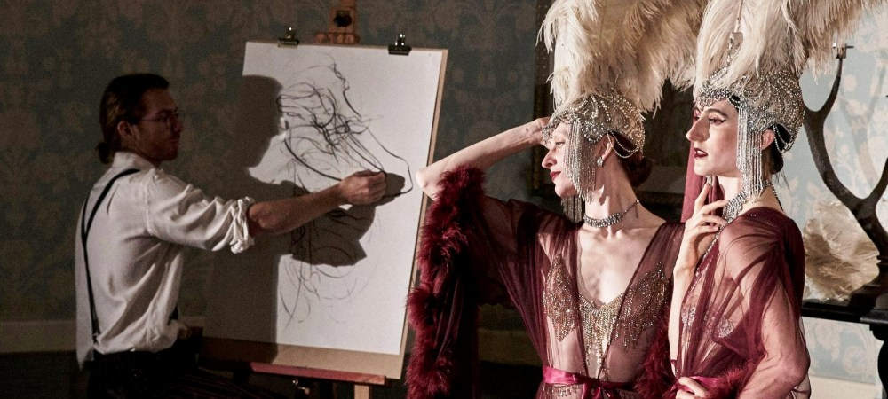 Costumed Life Drawing with J'Adore La Vie & Jake Spicer, 19-20th September