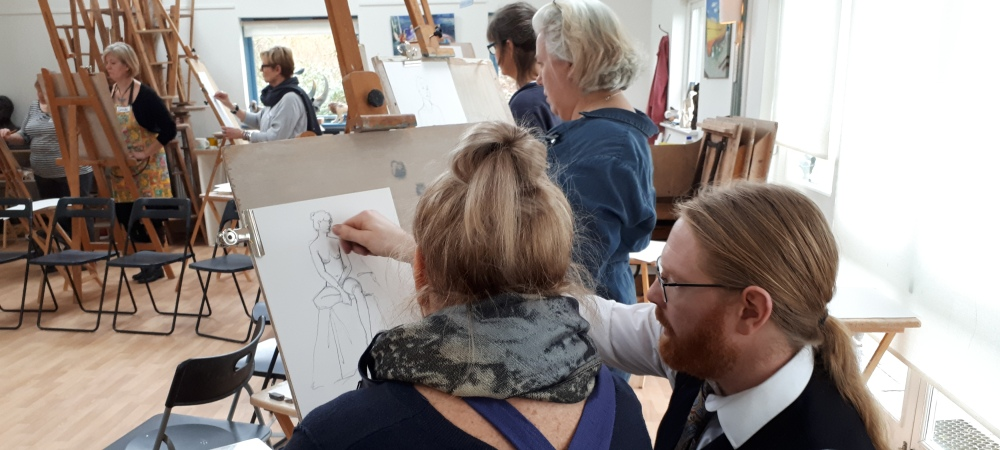Jake Spicer's Life Drawing Clinic - Improving Proportion, 8th May