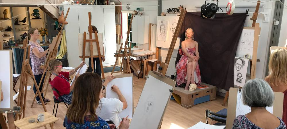 Portrait Drawing: Shape & Structure with Jake Spicer, 9th-10th May