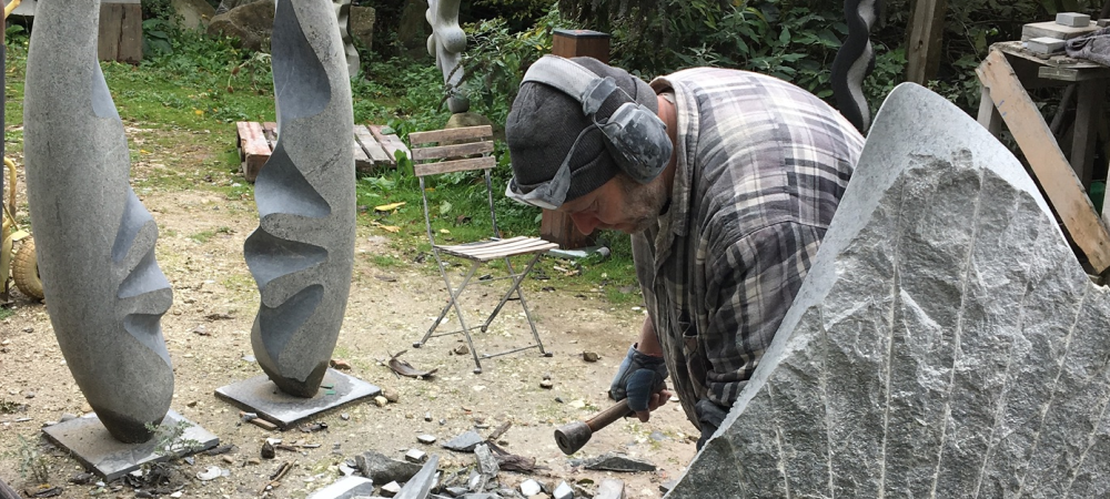 Abstract Stone Carving Course with Mark Stonestreet, 11 -13 August