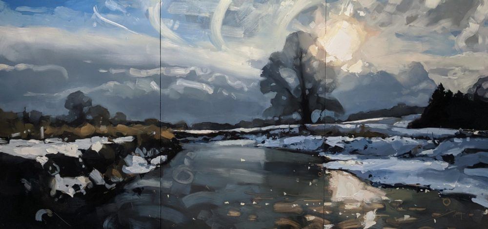 Contemporary Landscapes Zoom Demo with Hester Berry, 23rd February